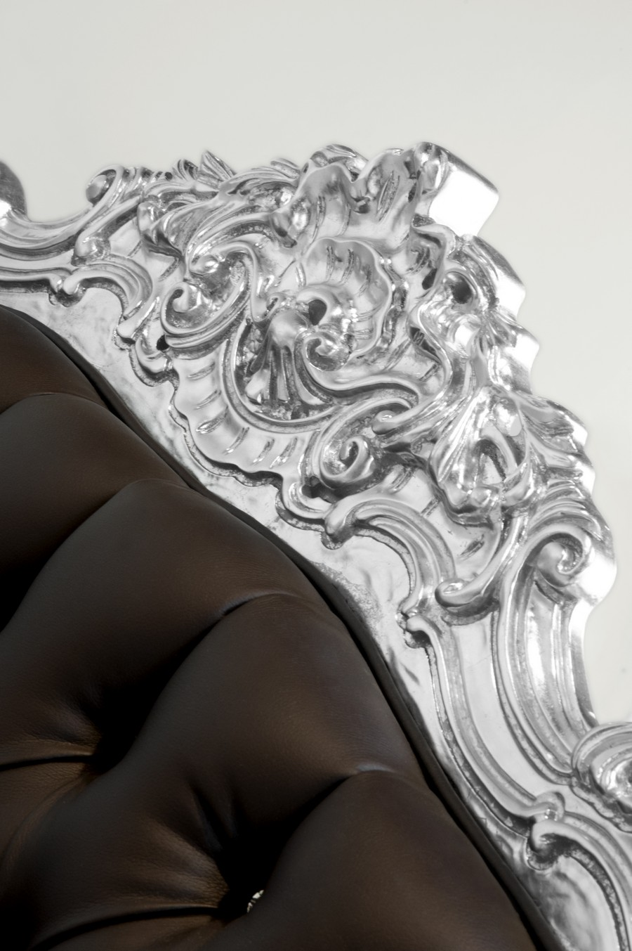 Intricate design of the car armchair