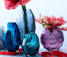 Jewel-toned vase
