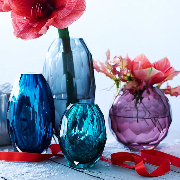 Jewel-toned vases