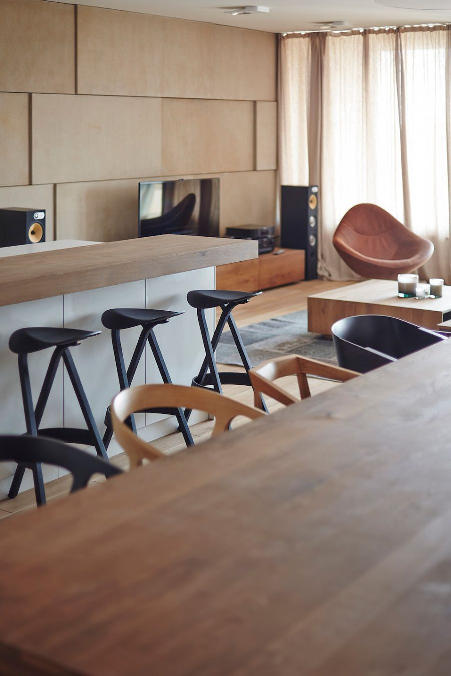 View In Gallery Kitchen Bar Stools In Black