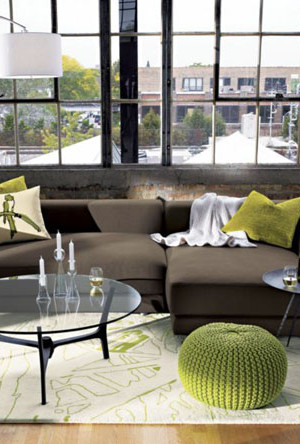 Knitted Furniture and Furnishings for Winter (1)