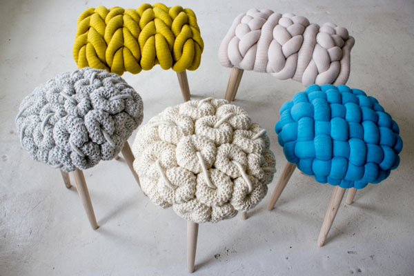 Knitted Furniture and Furnishings for Winter (10)