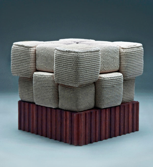 Knitted Furniture and Furnishings for Winter (11)