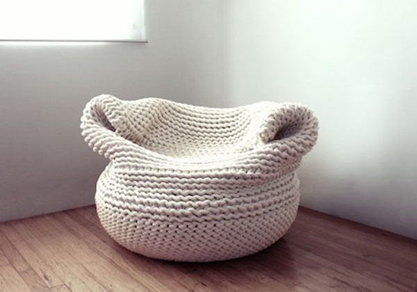 Knitted Furniture and Furnishings for Winter (6)