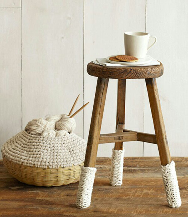 Knitted Furniture and Furnishings for Winter (9)
