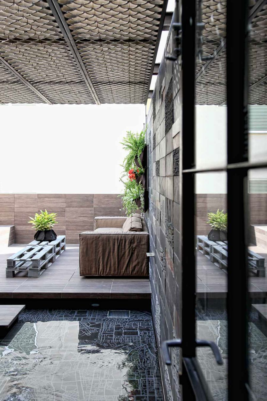 Stunning greek loft doubles as a dazzling design studio for Koi pond quezon city