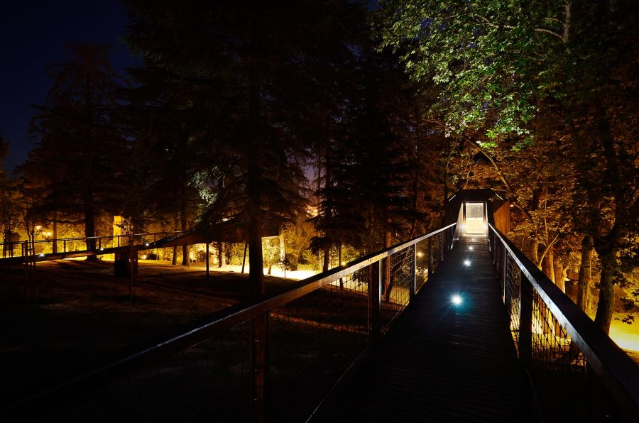 LED lighting system system used for the walkway