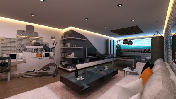 Living Room Design Ideas Single Man 70 bachelor pad living room ideas