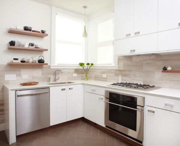 How to make small kitchens feel bigger for Small kitchen cabinets