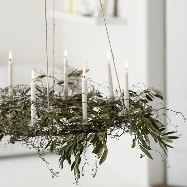 Lighting decoration has a minimal Scandinavian appeal