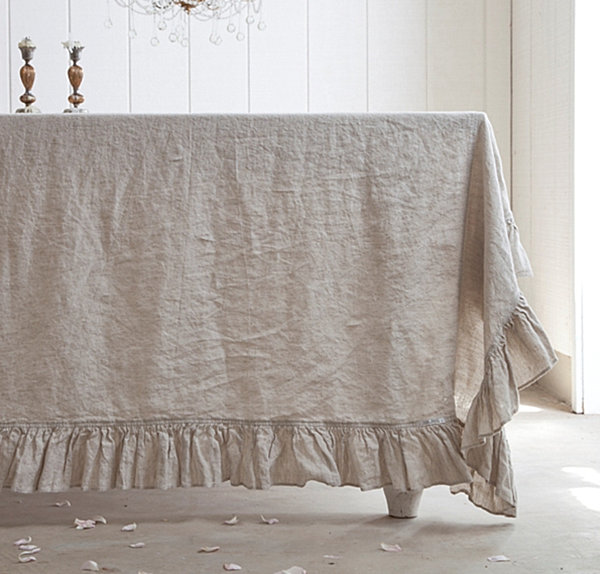 Linen Tablecloth Decoist