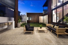 Dazzling mizu in perth combines smart technology with for Serenity house perth