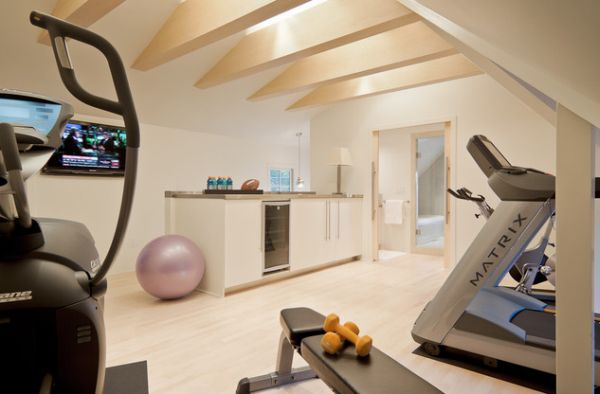 Lovely little Kitchenette combined with the home gym