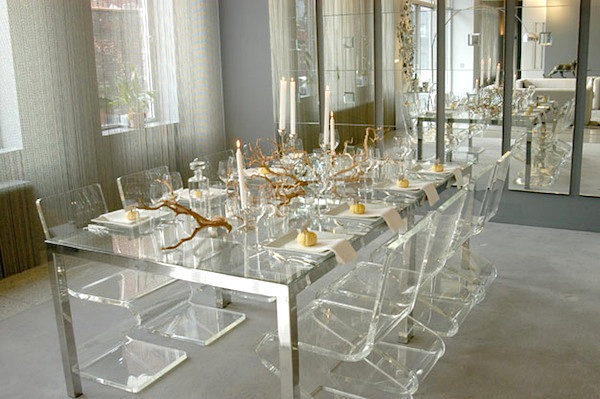 Luxe fall table