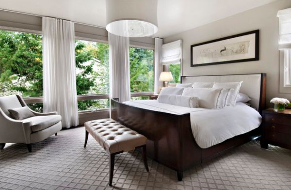 Make the bed the focal point of your bedroom!