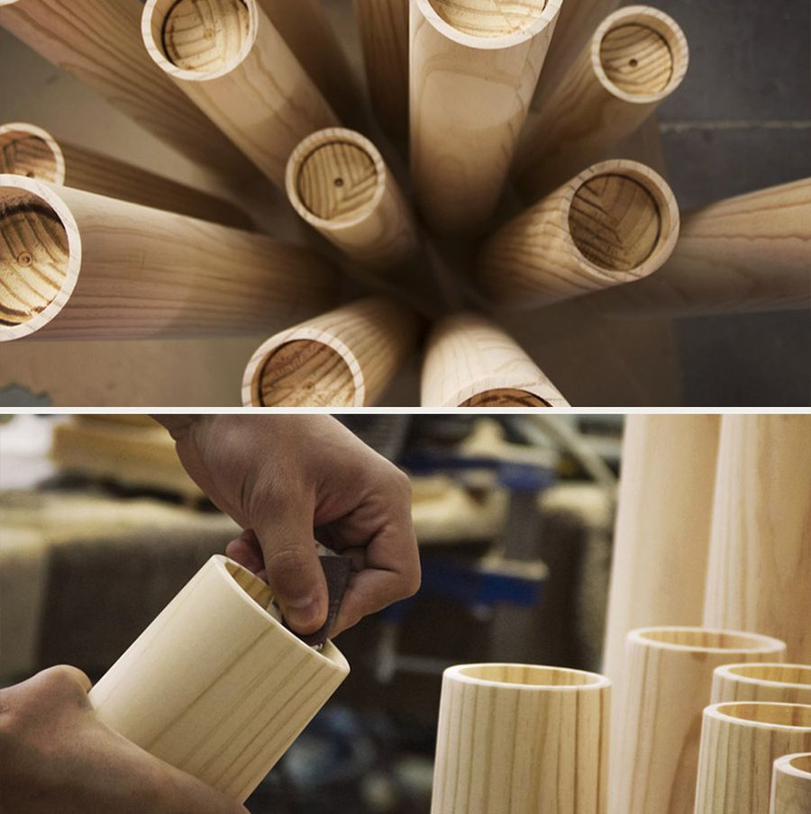 Making of the ETNA Candle holders
