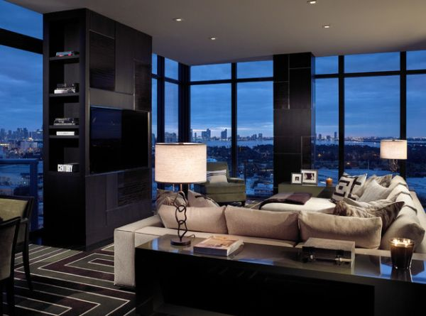 70 bachelor pad living room ideas for New york condo interior design