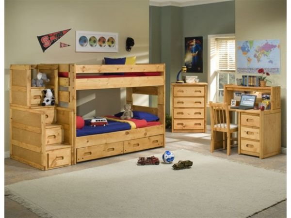 50 modern bunk bed ideas for small bedrooms. Black Bedroom Furniture Sets. Home Design Ideas