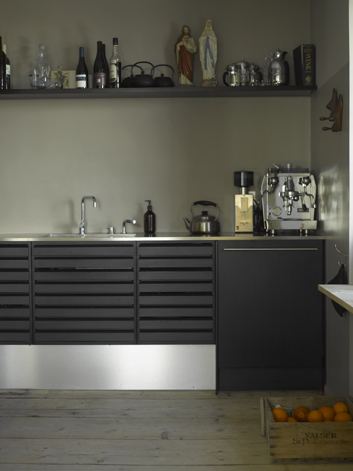 Modern kitchen at the swiss hotel