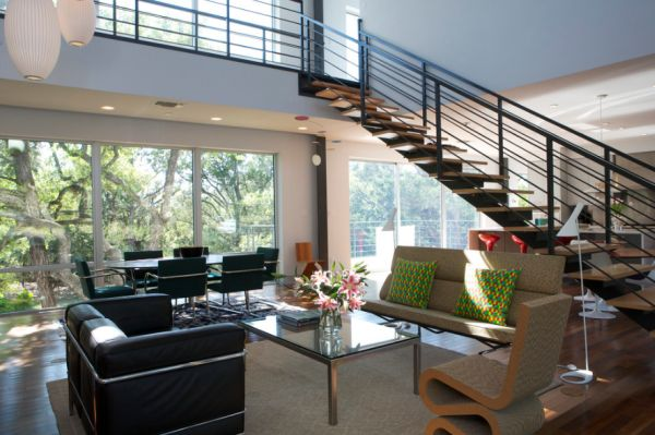 Awesome View In Gallery Modern Living Room With The Dynamic Wiggle Chair