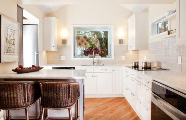How to make small kitchens feel bigger for Kitchen designs 2015
