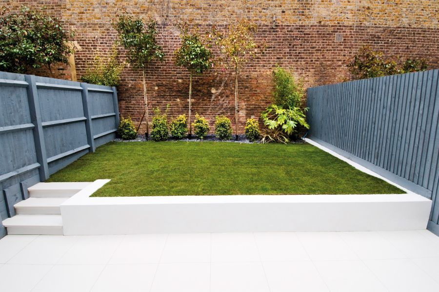 view in gallery moderst garden in the london home
