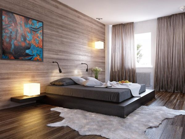 ... Platform beds bring unassuming style to the bachelor pad & 60 Stylish Bachelor Pad Bedroom Ideas