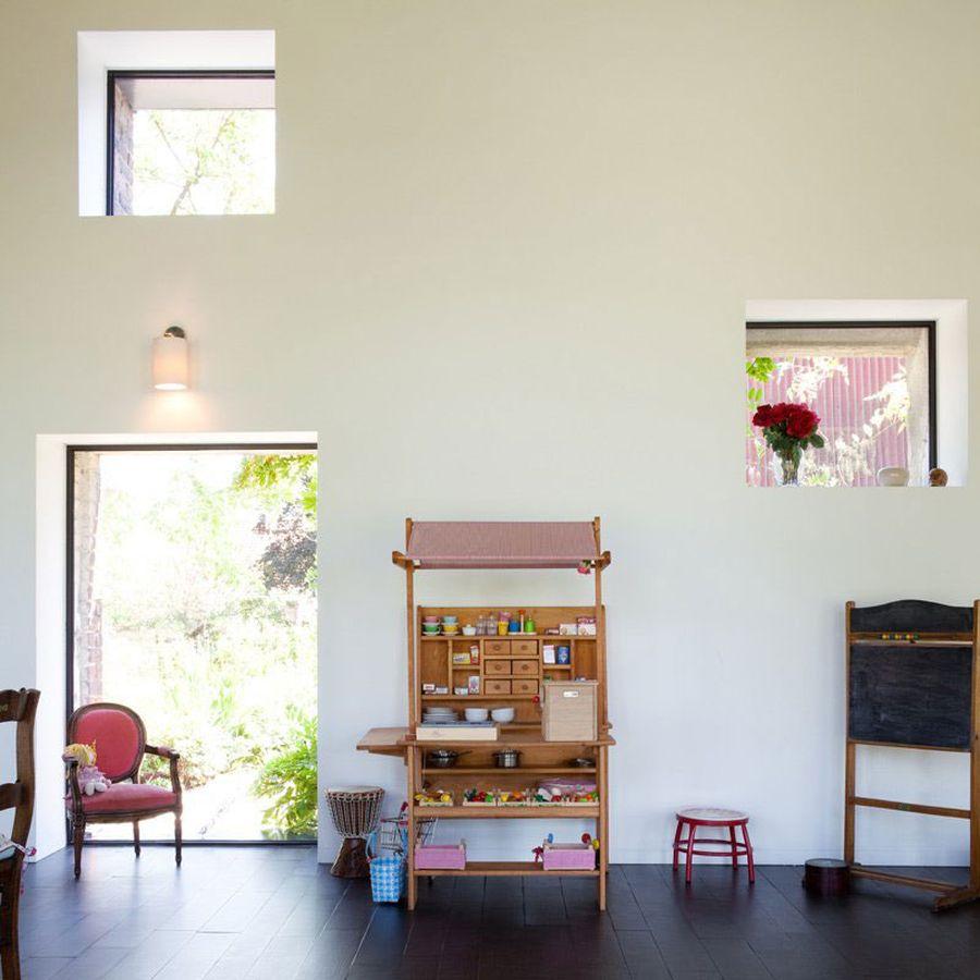 Playroom inside the fabulous farmhouse