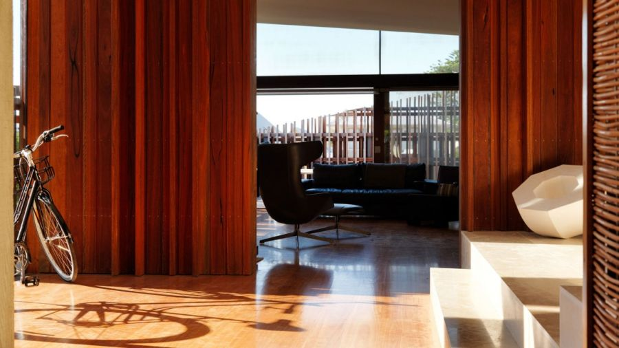 Private interior of the Queenscliff Residence