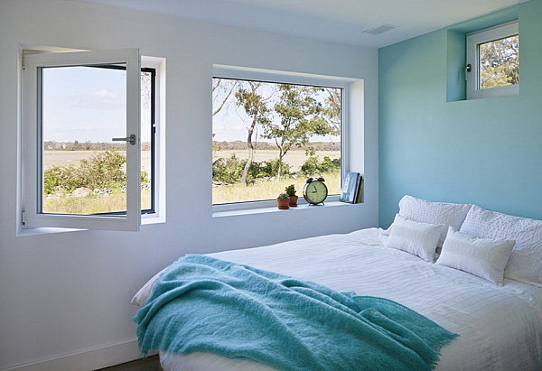 Awesome View In Gallery Refreshing Blue Bedroom Retreat Idea