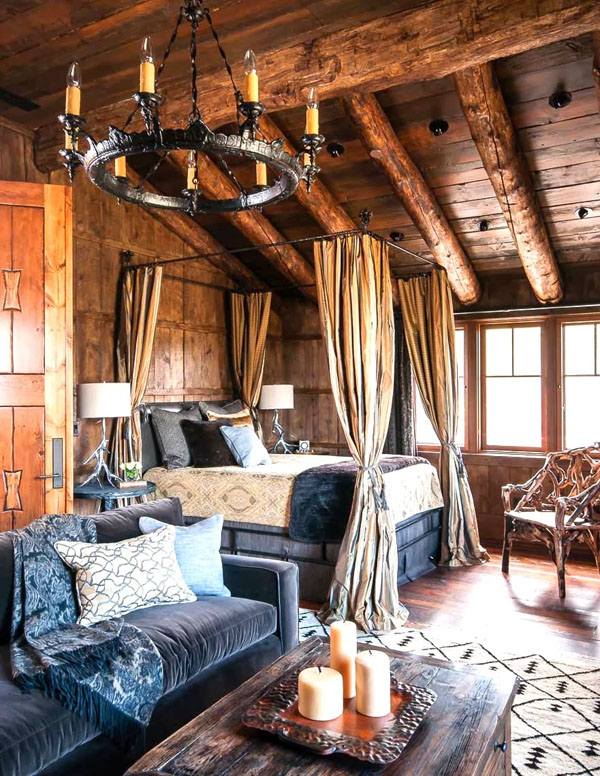 Rustic Bedrooms Decoist (10)