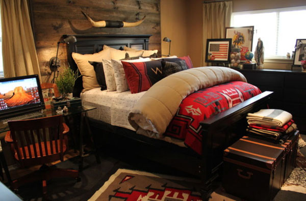 Rustic Bedrooms Decoist (13)