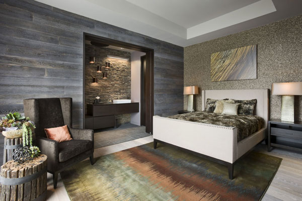 contemporary rustic bedroom 21 cheerful rustic bedrooms to inspire you this winter 11232