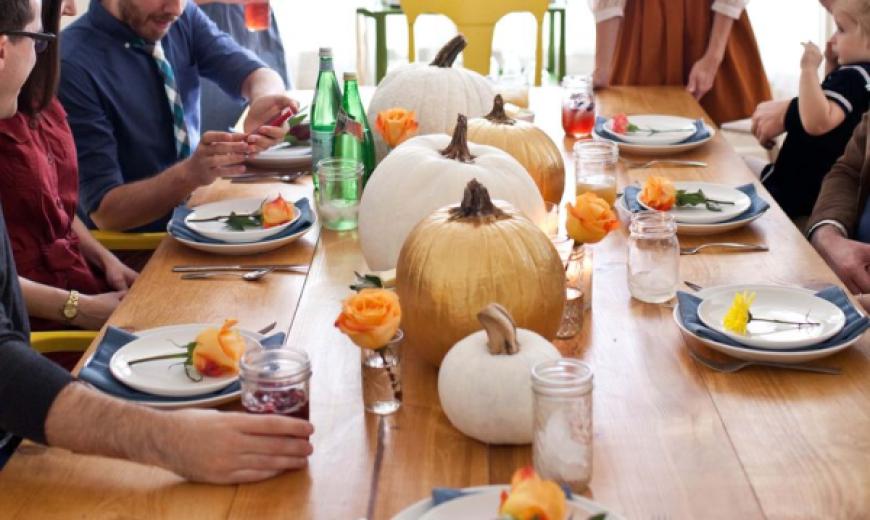 10 Last-Minute Thanksgiving Table Settings