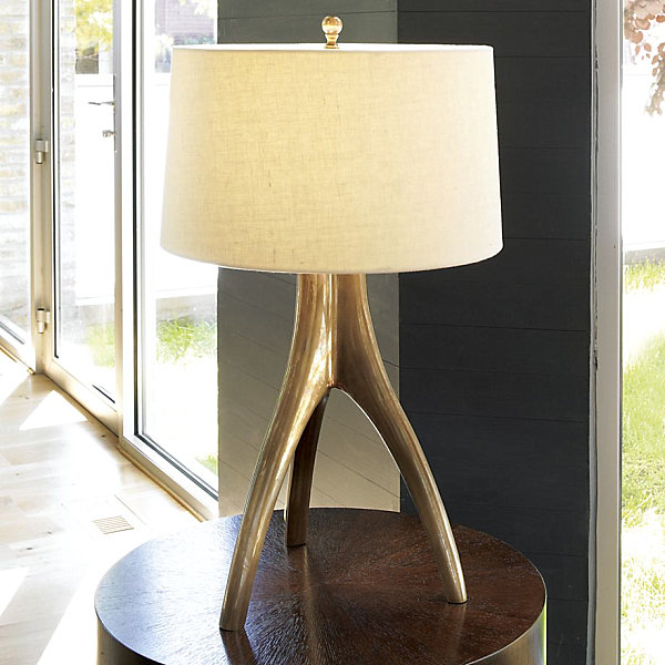 17 Eye-Catching Bedside Reading Lamps:View in gallery Sculptural table lamp,Lighting