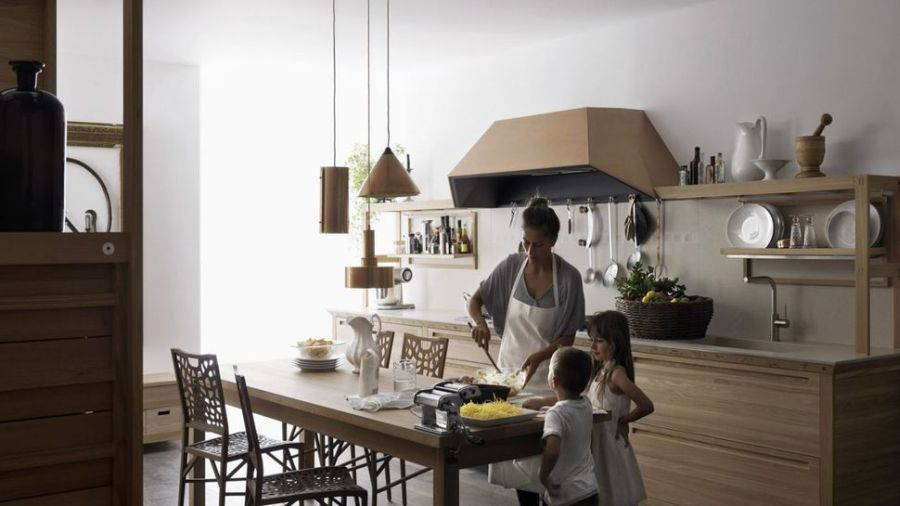 SineTempore Inlay kitchen by Valcucine