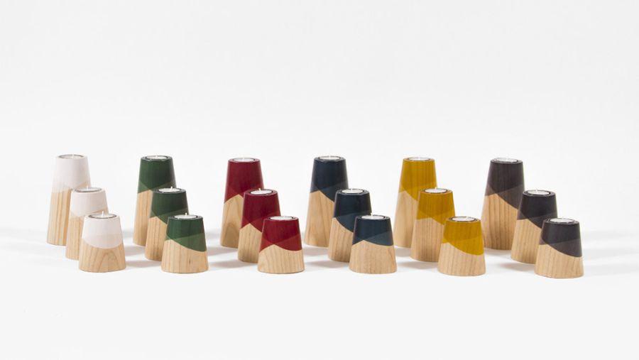 Six different colors of Etna mini