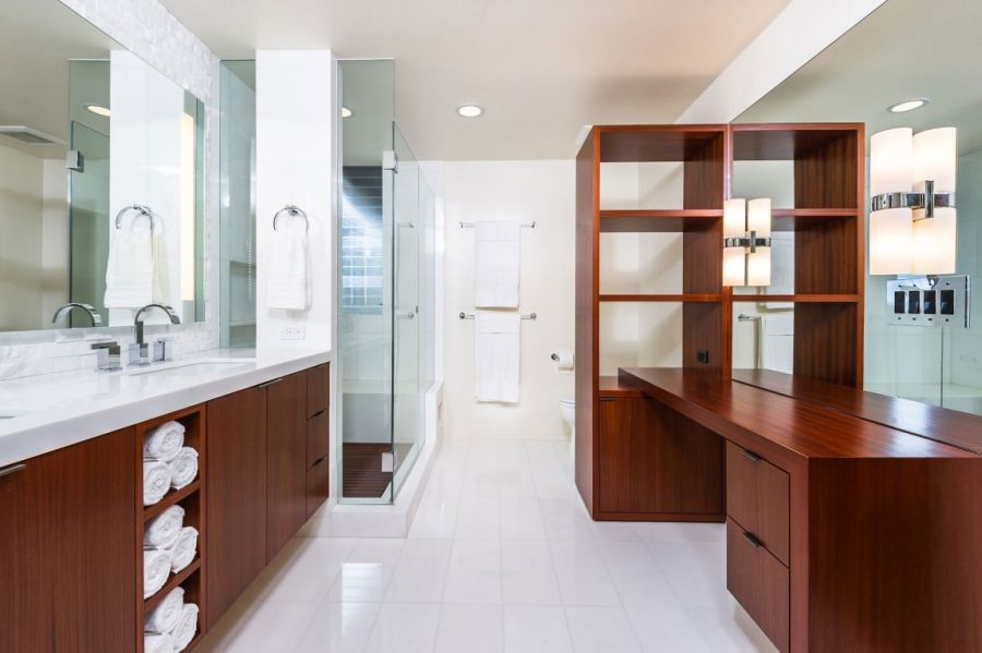 Spa-like bathroom at home