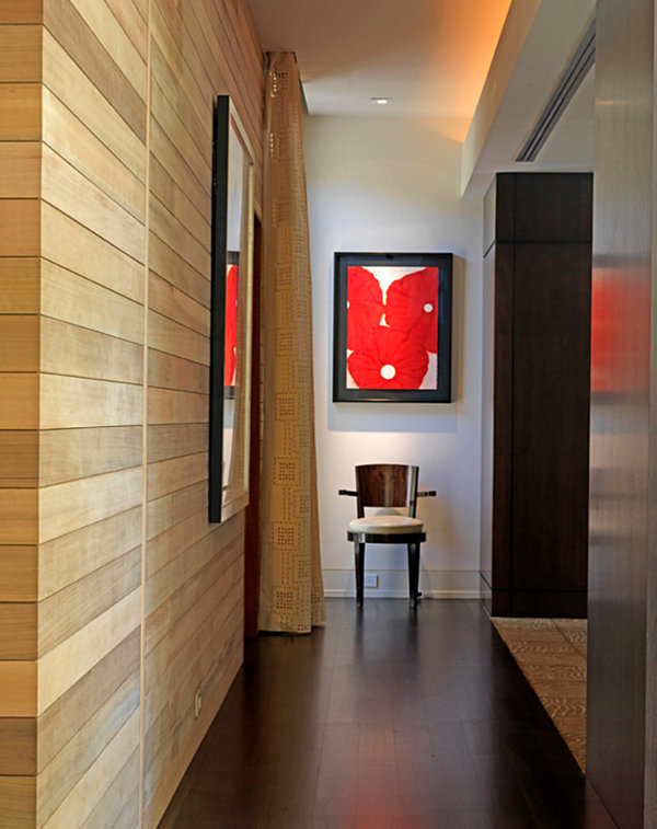 Hallway decorating ideas that sparkle with modern style for End of hallway ideas