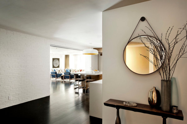 Statement entry in a New York loft