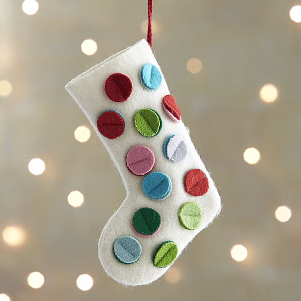Stocking ornament Stocking Decoration Ideas for a Festive Holiday