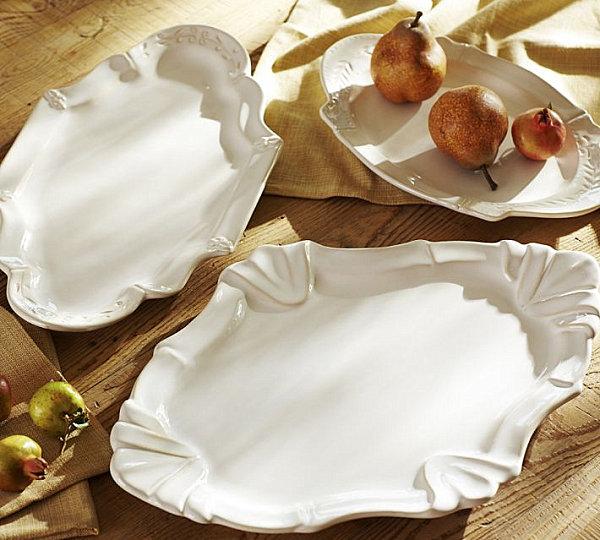 Stoneware platters