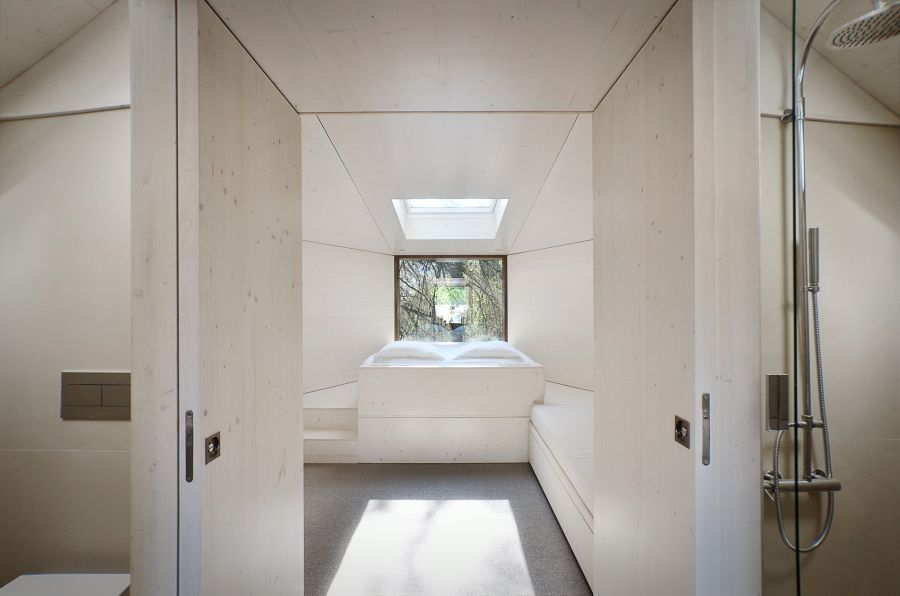 Stylish white contemporary interiors