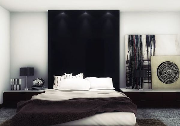 Turn your bed into the focal point of the room