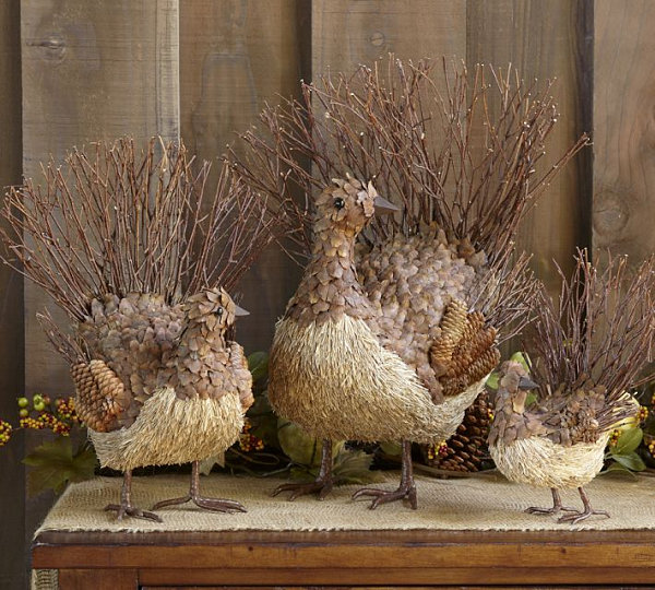 Twig turkeys