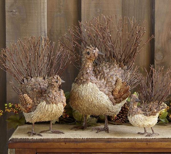 Twig turkeys