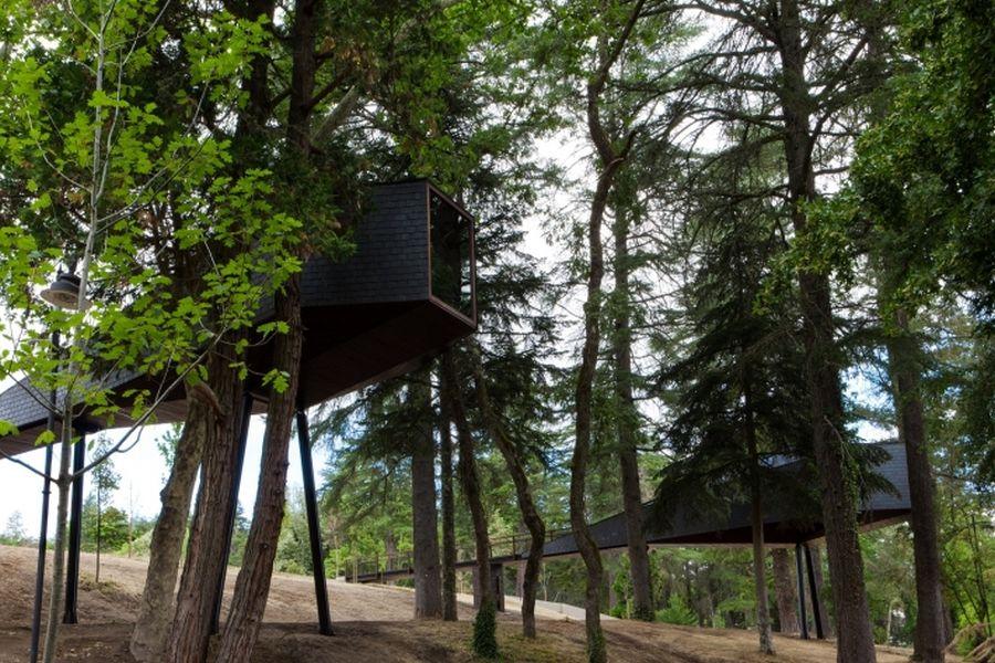 Two new tree houses at the  Pedras Salgadas Eco Resort