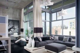 Ultimate bachelor pad decorating idea for a stunning living room