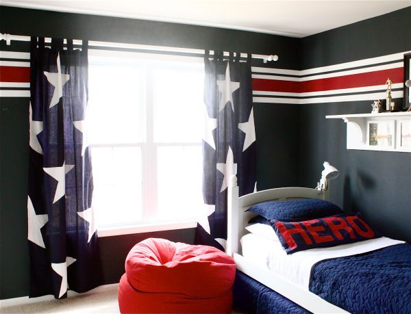 Cool boys room paint ideas for colorful and brilliant - Cool room painting ideas ...