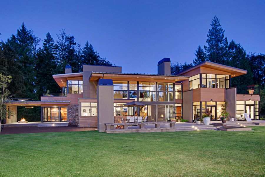 Fabulous Forest House Promises Sophistication Coupled With